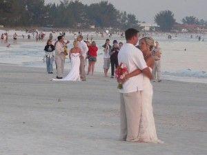 Nightly Weddings Around The Sandbar Restaurant On Anna Maria Island Fl