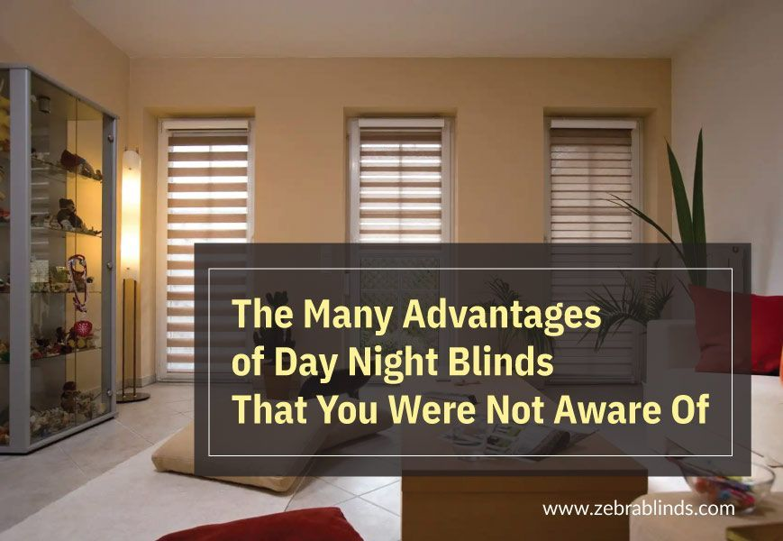 Advantages Of Day And Night Window Blinds That You Were Not Aware Of Night Window Blinds For Windows Night Blinds #wood #blinds #in #living #room