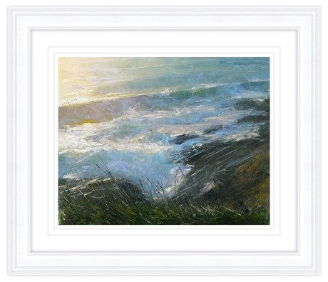 Evening Sea Framed Print