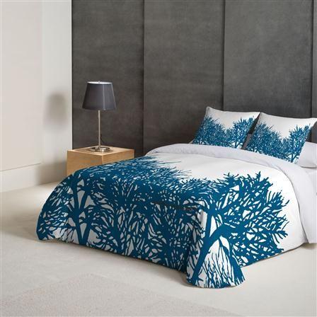 Angel Schlesser Coral Reef King Duvet Cover Set White Bed Set Super King Duvet Covers Blue Bedding Sets