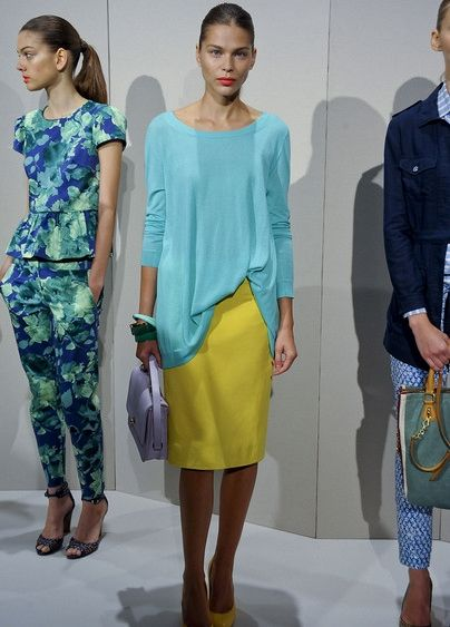 bright pastel mix really into for summer --j.crew spring summer