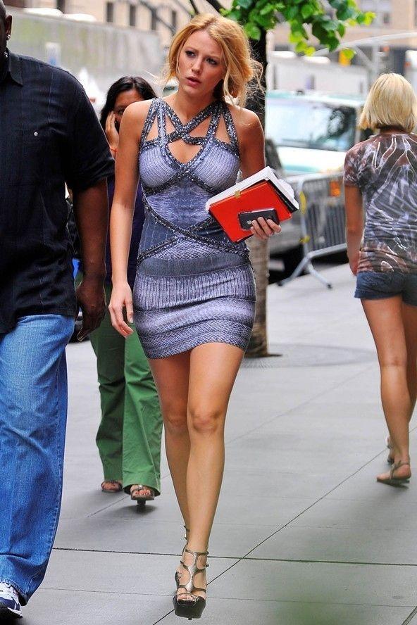 Serena Van Der Woodsen Style Bandage Dress Bodycon