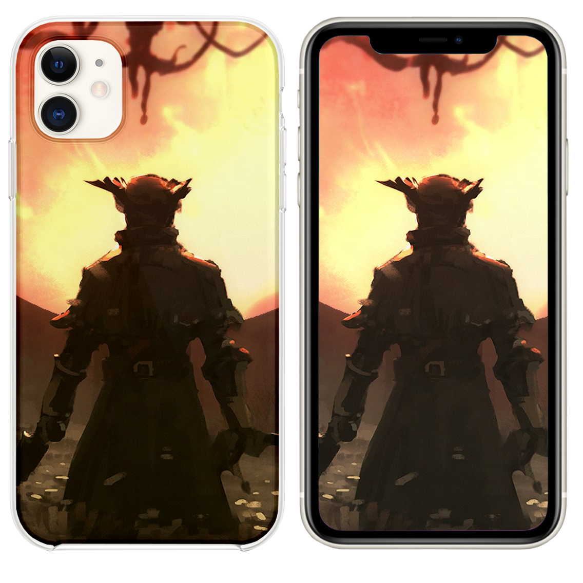 Bloodborne Game 4k iPhone 11 case Bloodborne game