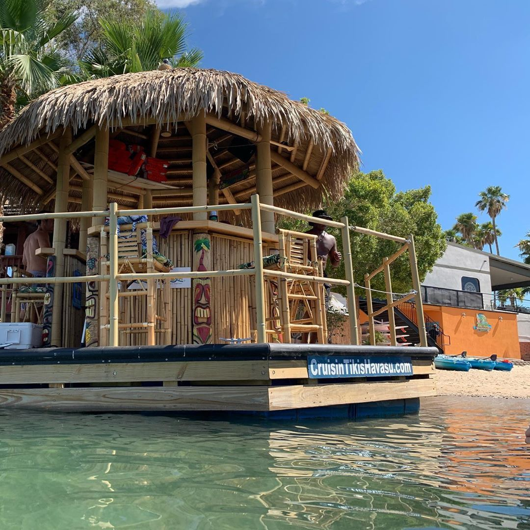 Floating Tiki Bar In Arizona Is Major Party Goals
