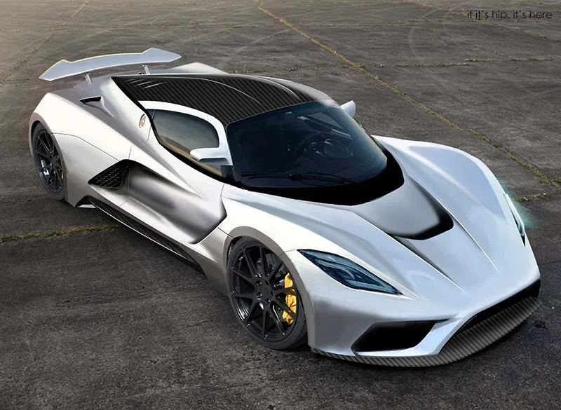 Hennessey Targets A Top Speed Of 290 Mph With The Hennessey Venom