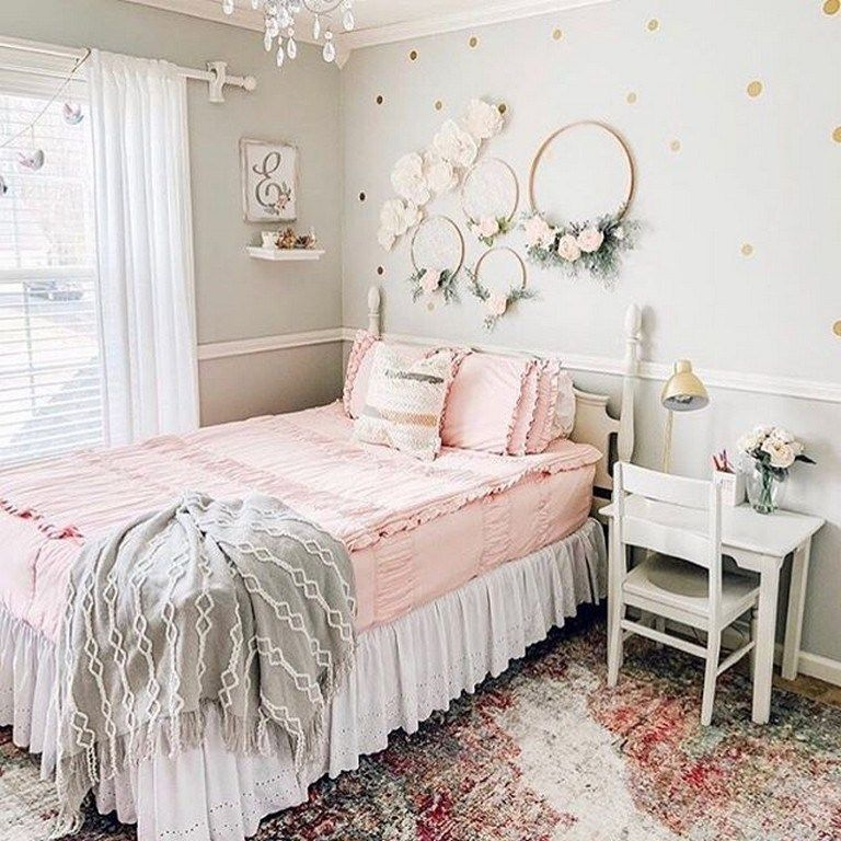 81 cute girl bedroom ideas you will love 68 is part of Girl bedroom walls - 81 cute girl bedroom ideas you will love 68