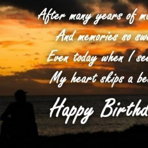 birthday quotes for wife from husband
