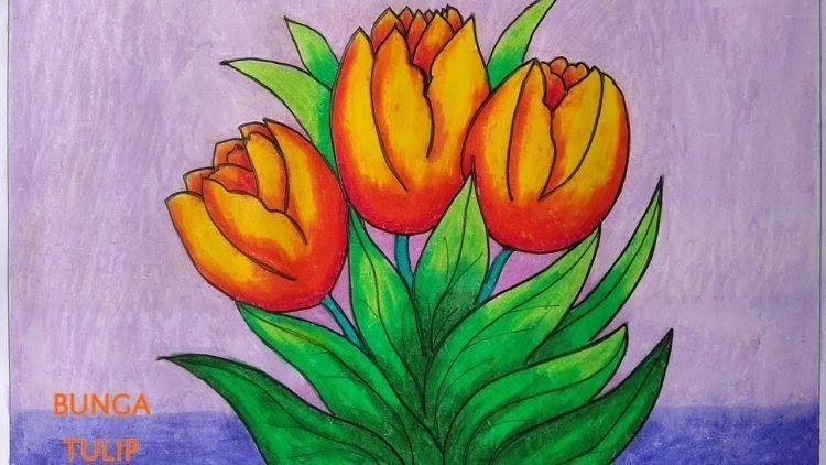 30 Lukisan Bunga Sepatu Di Kanvas Gambar Mewarnai Bunga Yang Mudah Beserta Contoh Romadecade Download Jual Tanam Di 2020 Bunga Tulip Lukisan Bunga Cara Menggambar