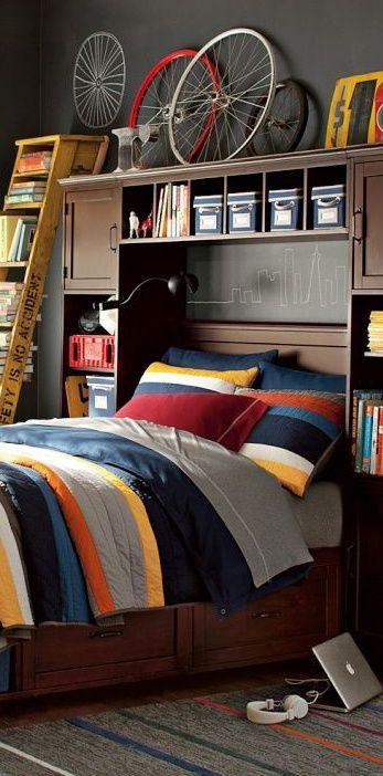 Teenage boys bedroom ideas 347 702 p xeles piso for Dormitorios estudiantes decoracion