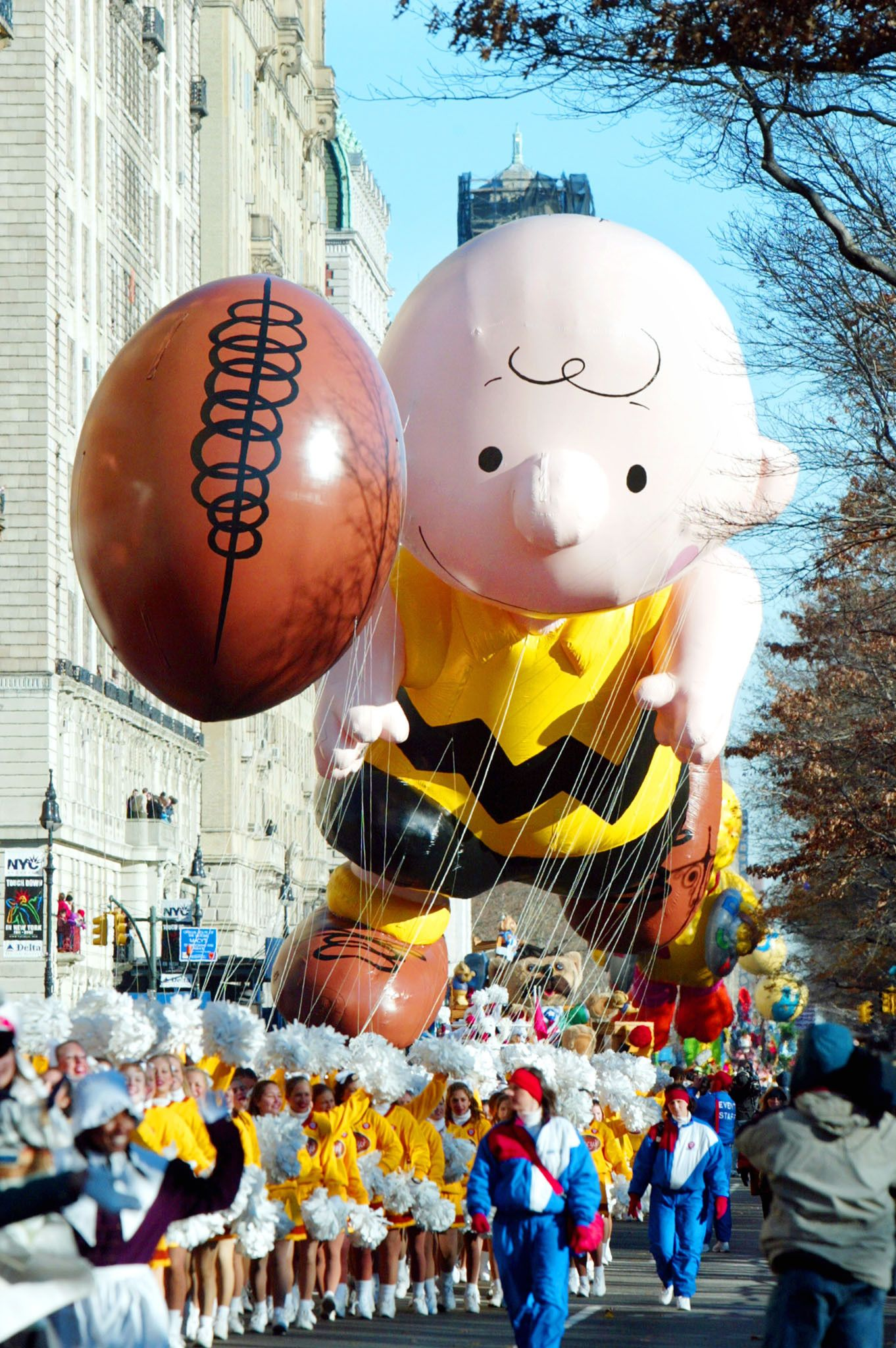 Pikachu Balloon Floats In Macys Thanksgiving Day Parade Thanksgiving Pictures His Thanksgiving History Macy S Thanksgiving Day Parade Thanksgiving Pictures