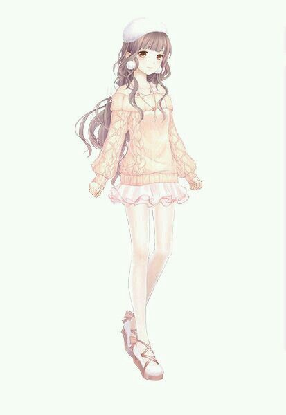 I Think Could Crochet This Sweater Do Puff Or Cable Stitches And What Anime OutfitsManga