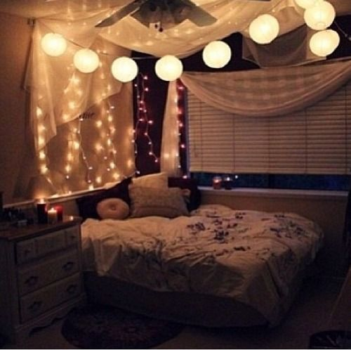christmas lights bedroom tumblr - Christmas Lights Bedroom Decor
