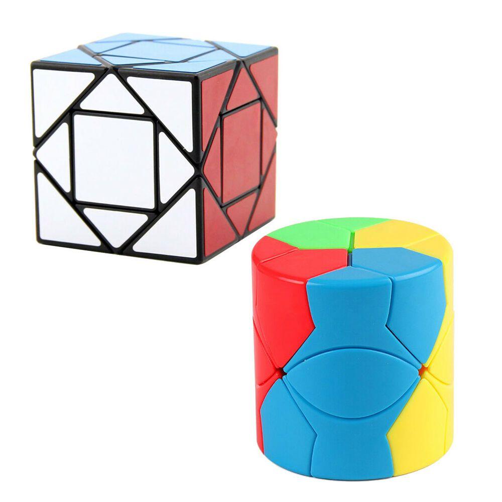 Ebay Sponsored 2 Stucke Unregelmassige Geschwindigkeitswettbewerb Magic Cube Twist Puzzle Puzzle Twist Spielzeug