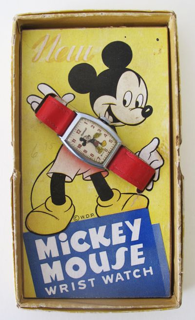 3871eeefe9a8 1946 Vintage Mickey Mouse Watch. List price  10