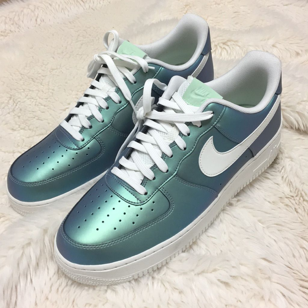 Nike Shoes | Mens Iridescent Oil Slick Nike 12.5 | Color