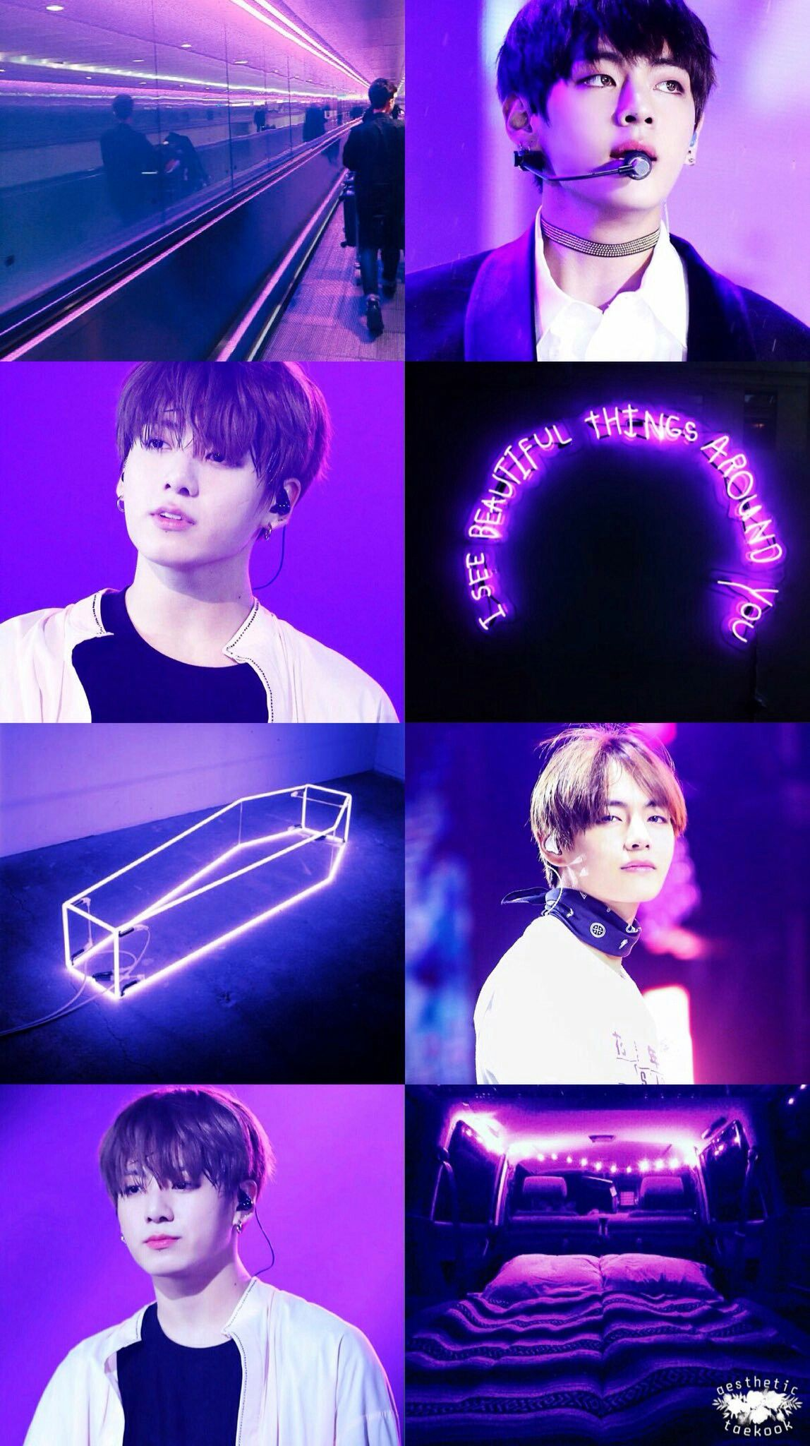 Aesthetic Lockscreen Wallpaper Asthetic Taekook By Ladybug Wallpaper Ponsel