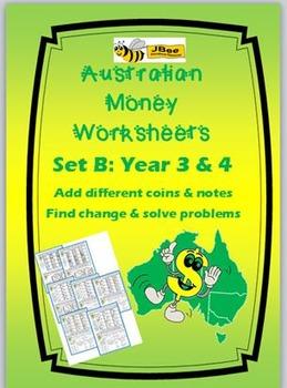 australian money worksheets year 3 4 maths resources money worksheets australian money. Black Bedroom Furniture Sets. Home Design Ideas