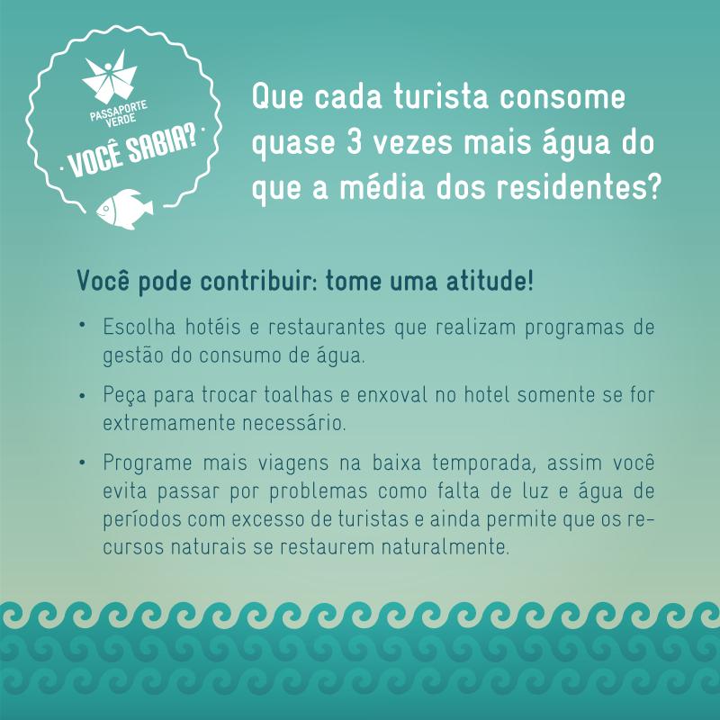 Pessoal de São Paulo e região sabem o quão difícil é essa situação de falta de água. Então que tal começar a mudar atitudes também durante suas viagens? Confira as dicas! #EuCuido #Água #TurismoConsciente