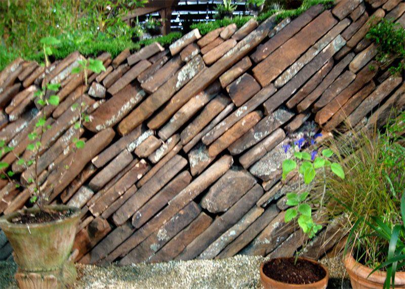 Stone Wall Garden   Google Search