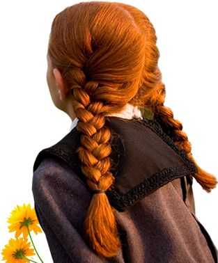 """Anne of Green Gables - """"Don't call me carrots!"""" - braids"""