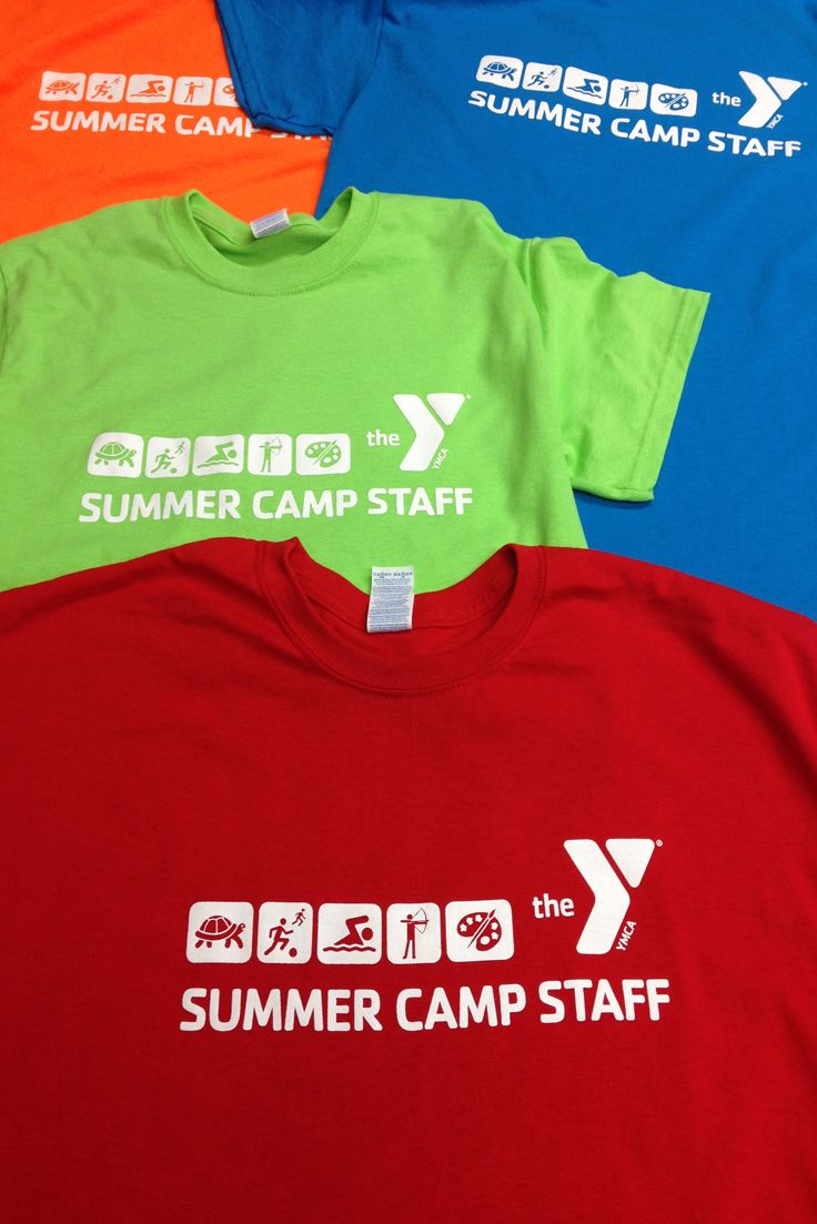 066dc4efc YMCA Summer Camp screen printed Staff shirts. | Special Event T ...