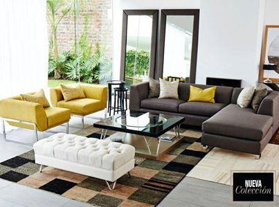 Foto: sala vicenza propone un elegante seccional como pieza ...