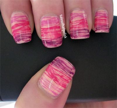 Nail Art Designs Using Dotting Tool To Bend Light