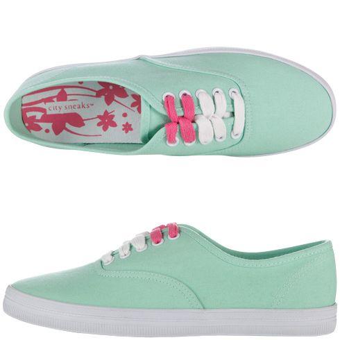 9aedb1e0aa0f I absolutely love mint. Womens City SneaksWomen s Canvas Bal Sneaker ...