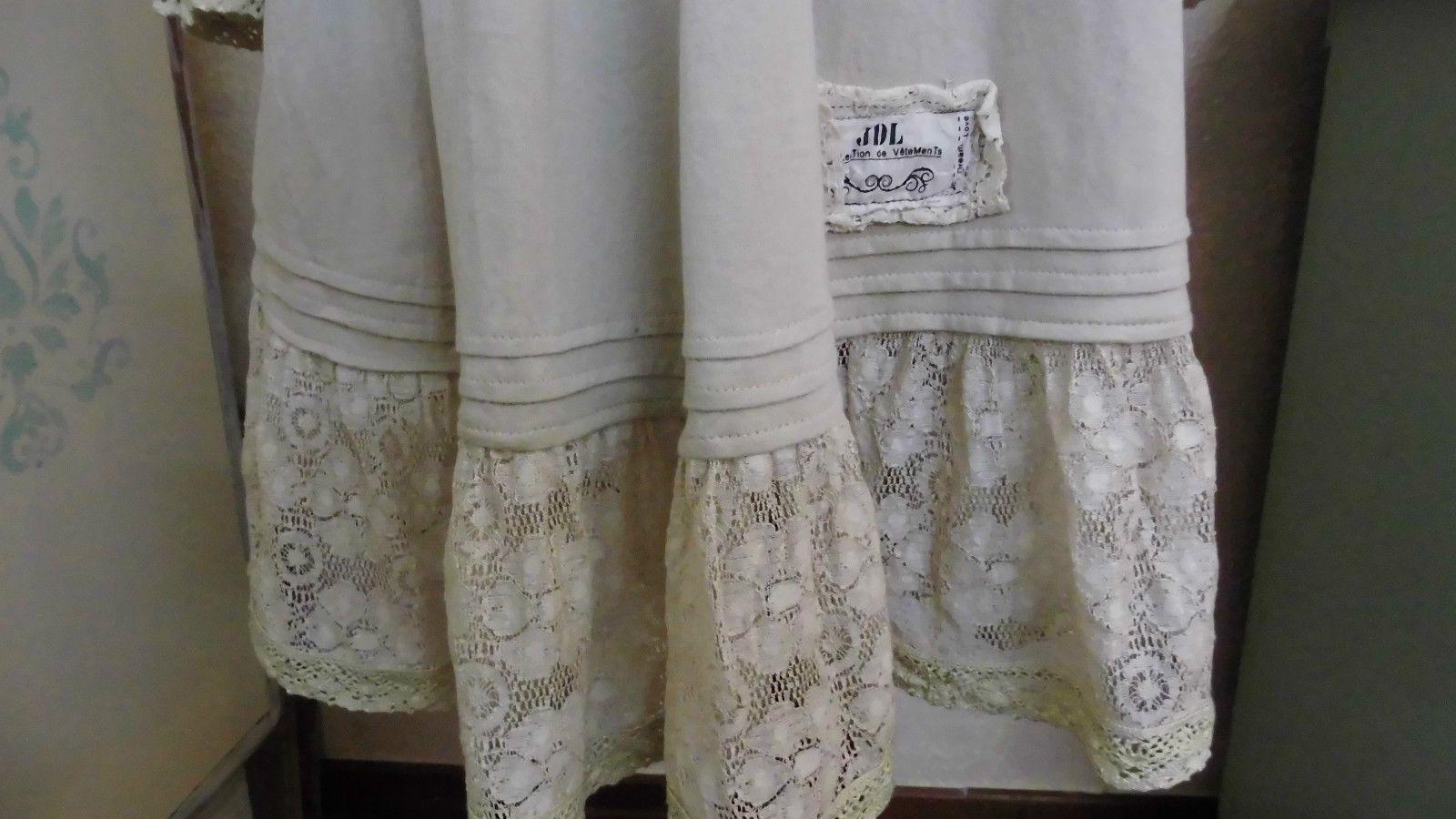 Kleid Tunika von Jeanne d´ Arc Living beige Elfe Romantisch   eBay