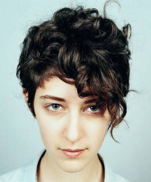 Hairstyles Of 2014 2015 Curly Pixie Hairstyles Haircuts For Curly Hair Short Curly Haircuts