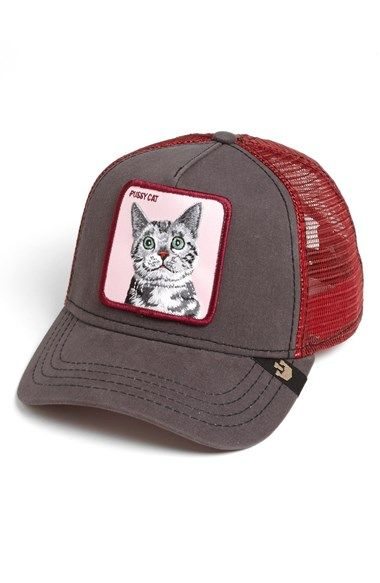 Goorin Brothers  Animal Farm - Whiskers Cat  Trucker Hat  634a9ef01ee