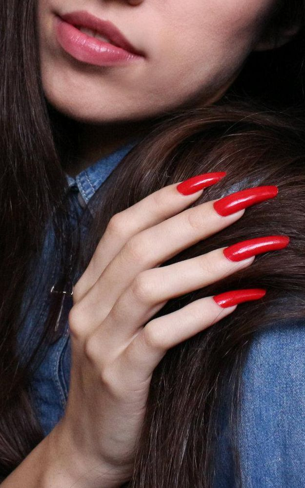 Sexy women with long nails interesting. You
