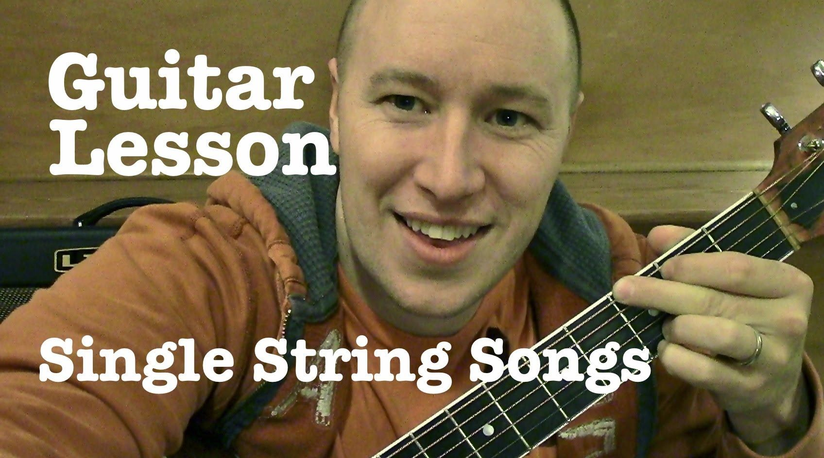 Single String Songs For Guitar Lesson Smoke On The Water Ironman