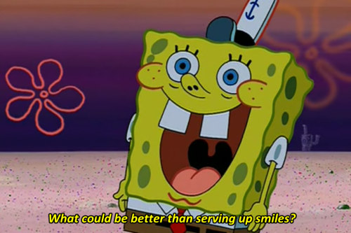 We are all either Spongebob, or Squidward; there is no middle.