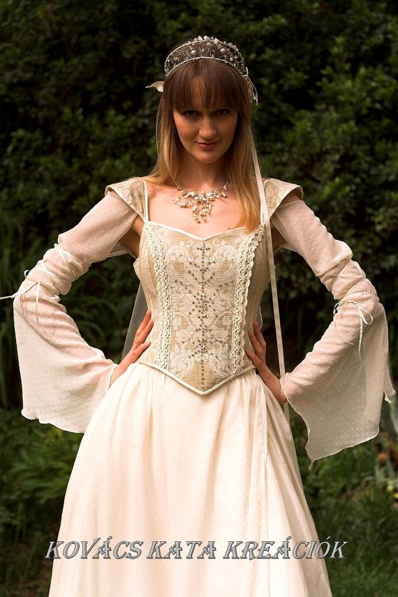 Wench style wedding dresses