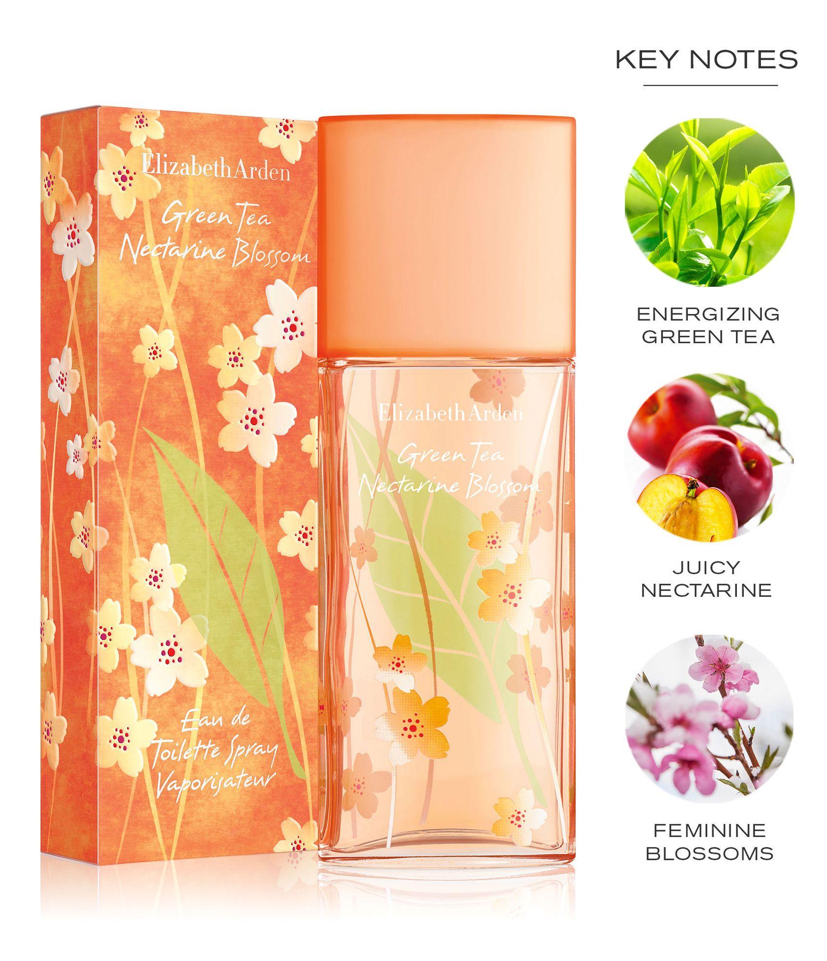 Green Tea Nectarine Blossom De Elizabeth Arden Nuevas Fragancias