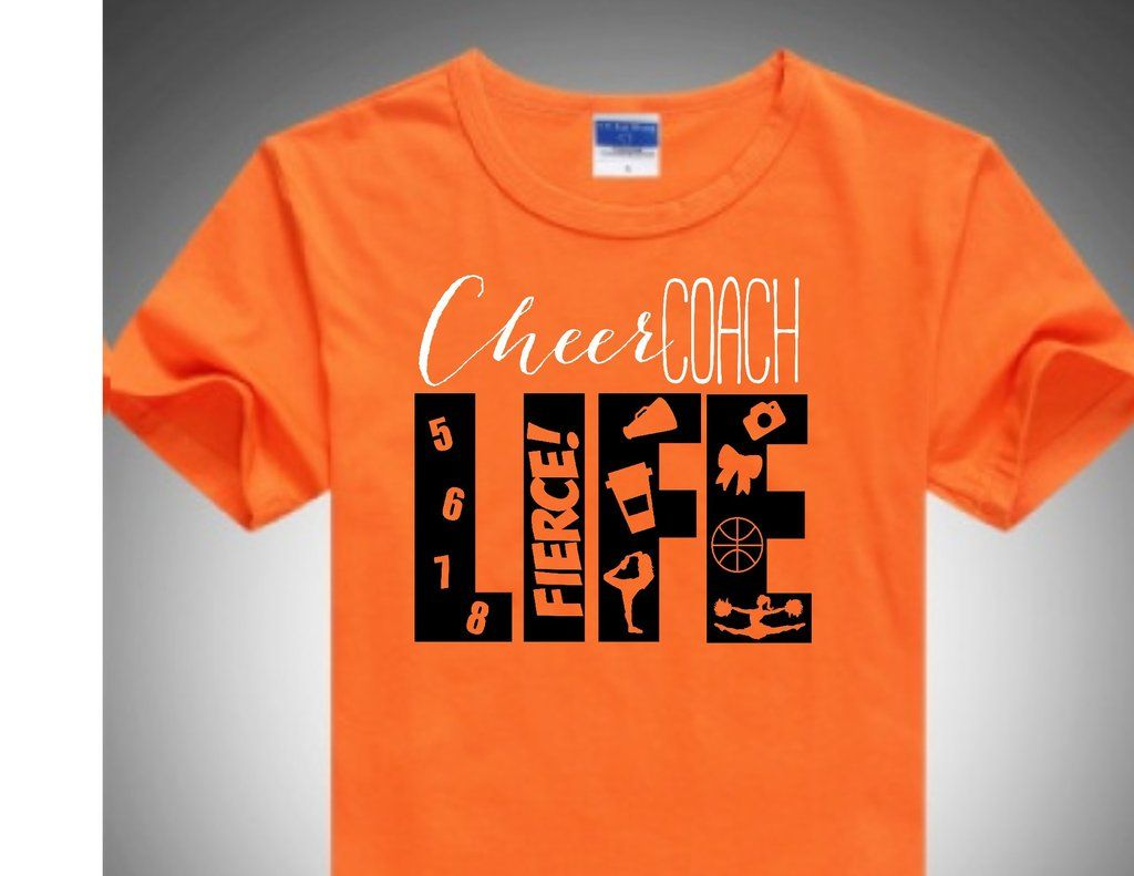 Cheer Coach Life Short Sleeved T Shirt Cheer Collection