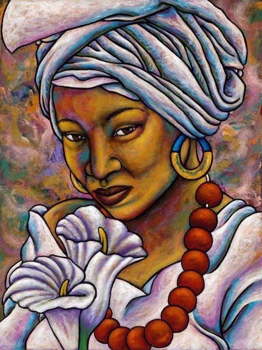Characters heritage gallery black art teen angel