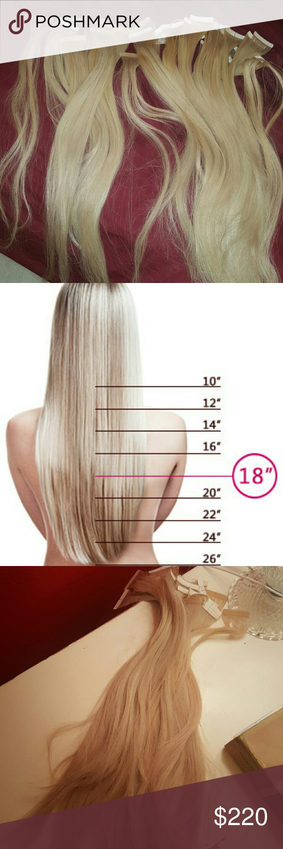Blonde Babe Hair Extensions Remy Hair Hair Extensions And Extensions