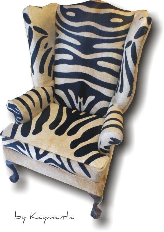Palomino U0026 Zebra   WingBack ArmChair