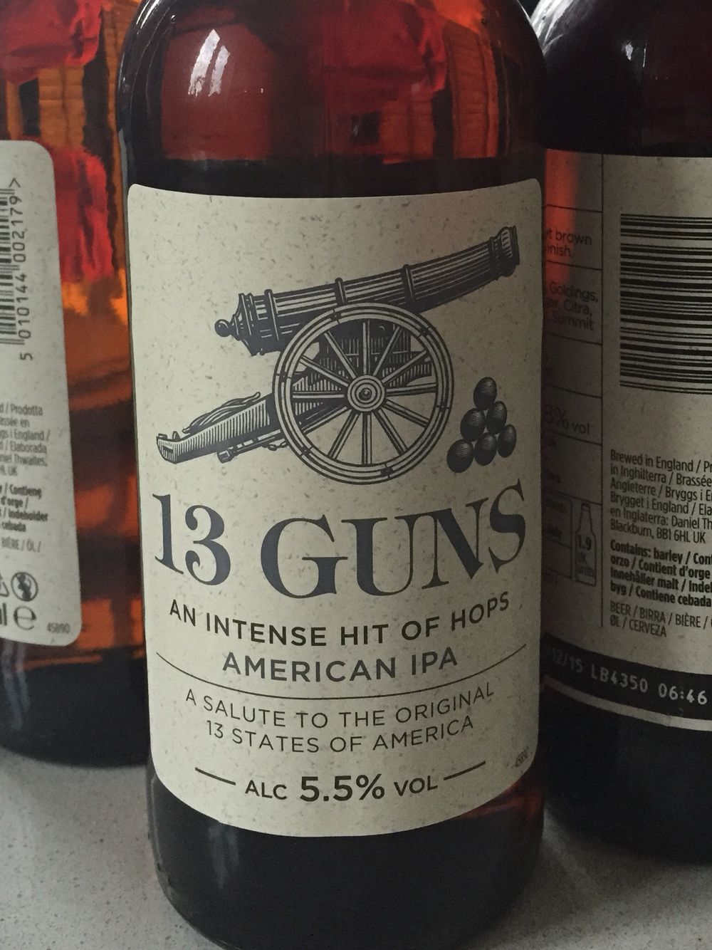 #84 Crafty Dan 13 Guns - Smooth but loads of hoppiness  5/5 (22/05/2015)
