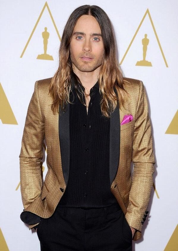 Jared Leto at The 86th Academy Awards Nominees Luncheon ...