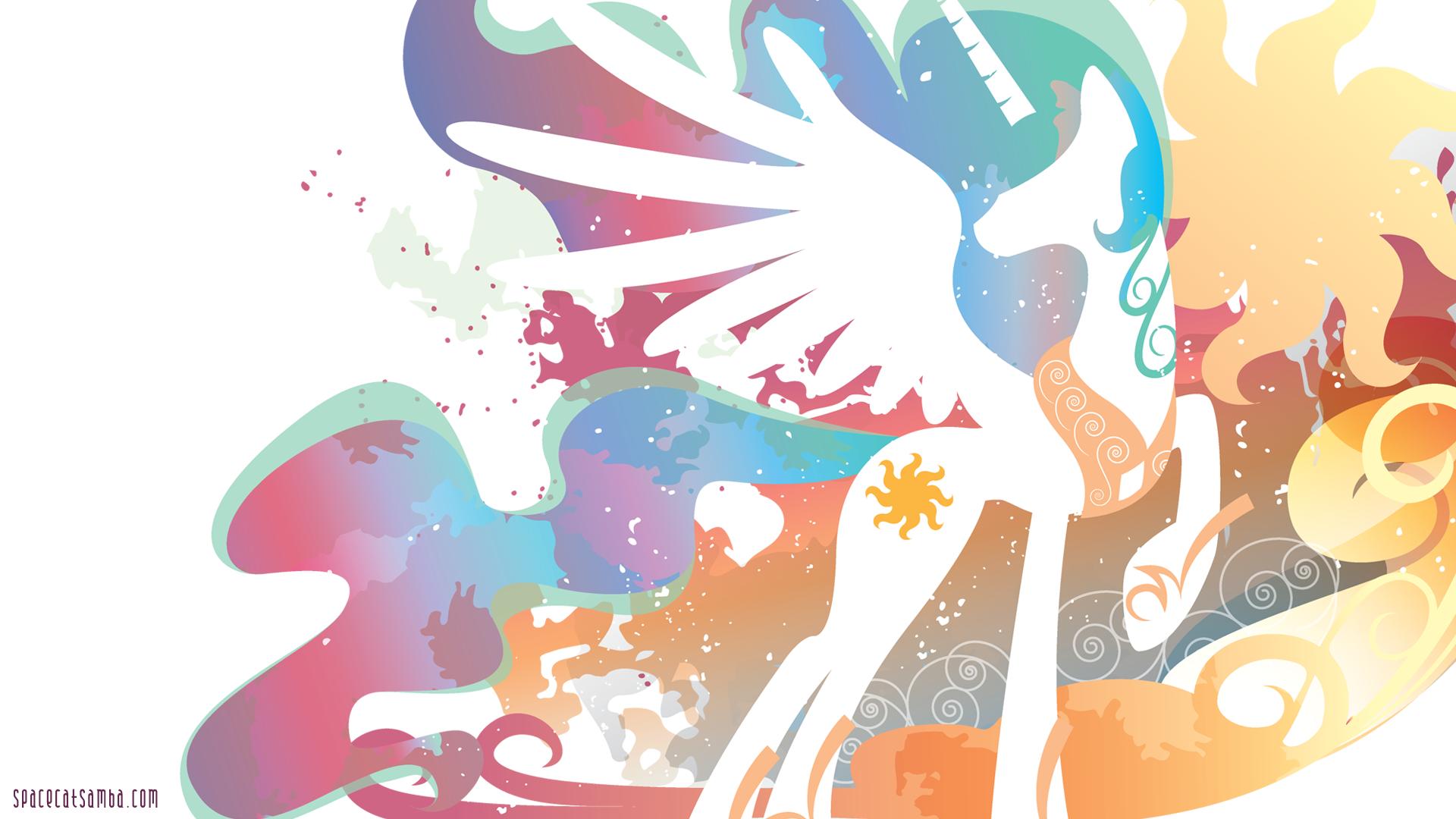 Celestia Pics Mlp Wallpaper Abyss Cartoon My Little Pony