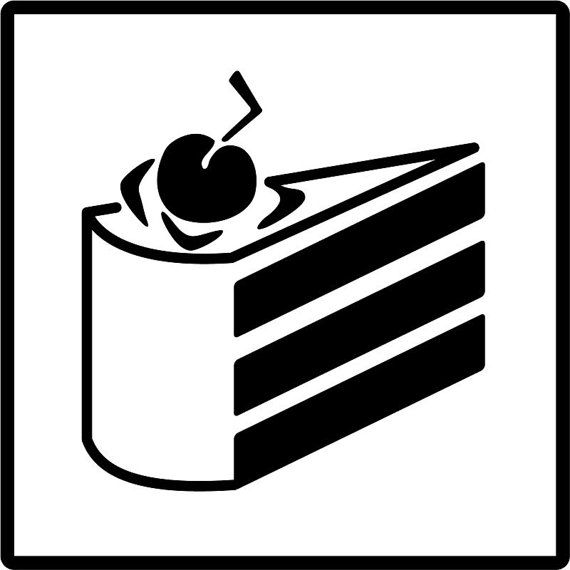 Portal Cake Vinyl Decal/Cake is a lie vinyl decal | Let me show you ...