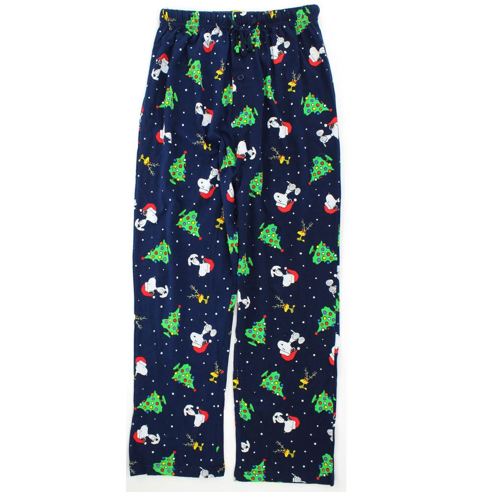peanuts snoopy christmas mens cotton pajama pants pn082mpt xl peanutsworldwide loungepants - Snoopy Christmas Pajamas