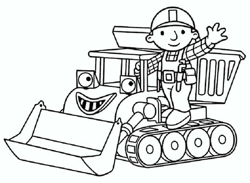 Ausmalbilder Bagger Traktor Ausmalbilder Fur Kinder Ausmalbilder Bob Der Baumeister Ausmalbilder Zum Ausdrucken