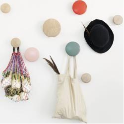The Dots Garderobenhaken Muuto – Bolsa de moda