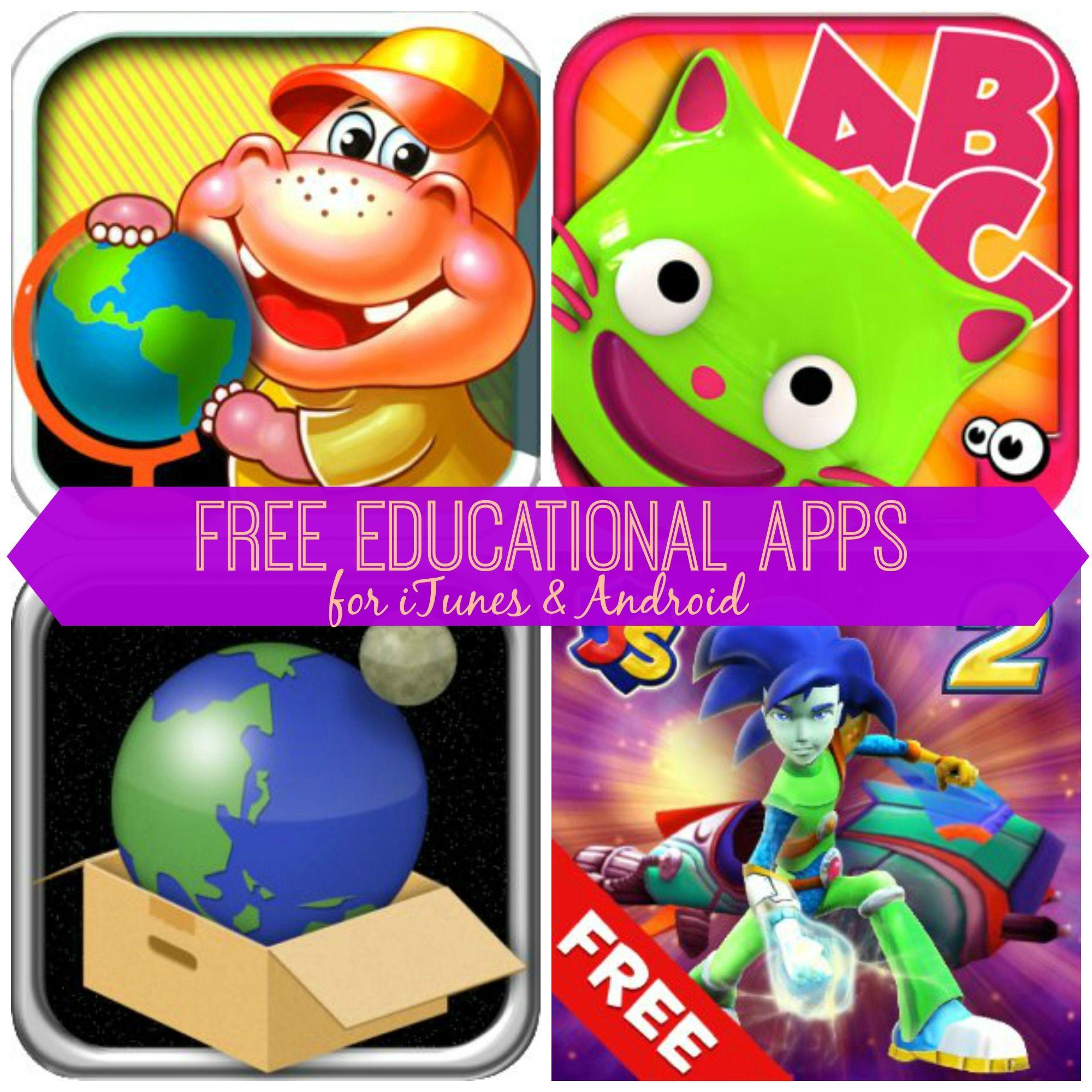 Free Educational Apps for Kids EduKitty ABC, Math Blaster