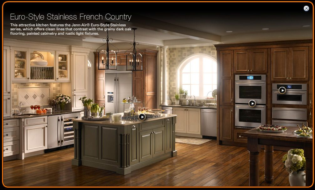 Is Mixing Kitchen Cabinet Finishes Okay Or Not: Mix Of Cabinet Colors, From Jennair.com
