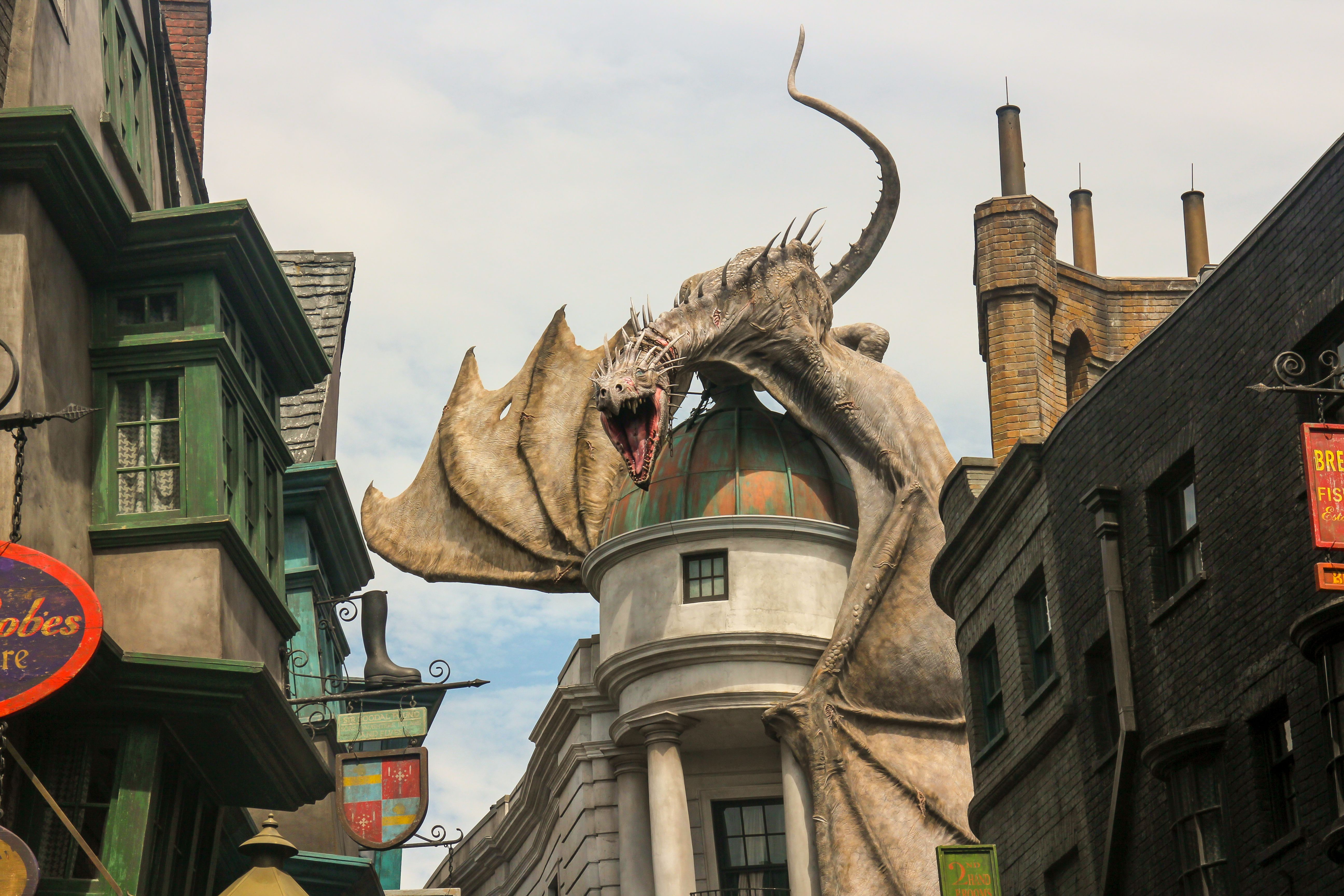 a description of the universal studios escape Home oi universal center complete guide & history to universal studios florida wizarding world of harry potter – diagon alley harry potter and the escape from gringotts at universal studios florida facebook twitter.